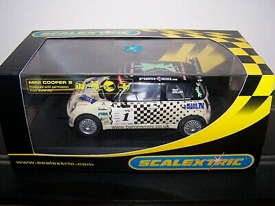 Scalextric C2564 Mini Cooper S X-nrgdrink #1 Lightly Used & Cracked Case • 0.99£