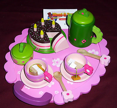 Wooden Tea Party Set.   Djeco Replica • 19.99£