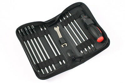 Fastrax 19-in-1 Tool Bag Set 3x Slot, 3x Phillips, 6x Hex, 4x Nut And 1x 5/8mm W • 23.98£