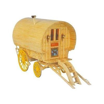 Match Craft Bow Top Caravan Matchstick Craft Kit 11496 • 18.99£