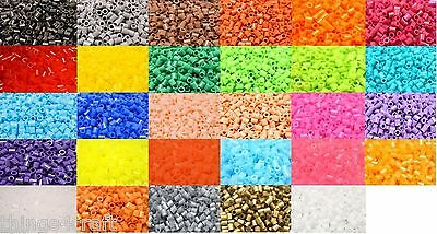 Colour Fuse Beads * 500 Beads Per Pack * 5mm * High Quality - Color Bead • 1.99£