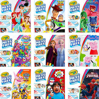 Crayola Color Wonder - Various Themes And Characters - Mess Free Colour Wonder • 6.56£