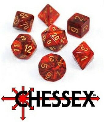 Chessex Dice Sets - Roleplaying Dice Sets - Mixed Listing - New • 4.99£