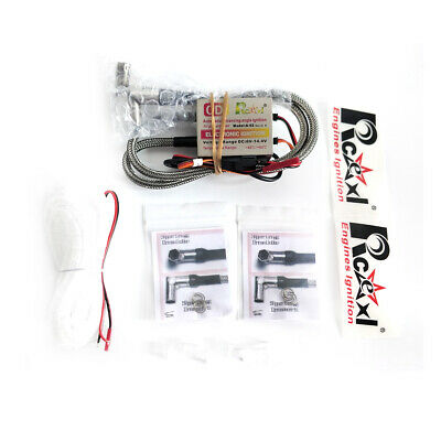 Automatic Twin Cylinders Ignition CDI For NGK ME-8 1/4-32 90° & Universal Sensor • 52£