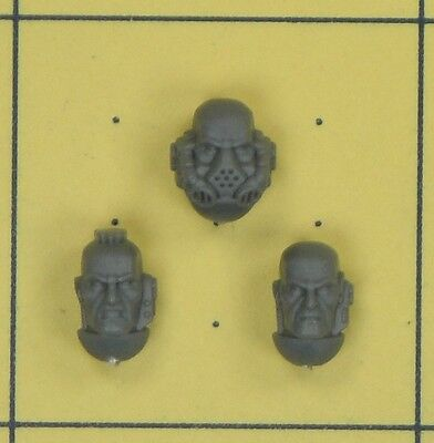 Warhammer 40K Space Marines Tactical Squad Heads • 1.50£