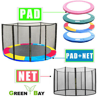 Replacement Trampoline Spring Cover Padding Pads Safety Net Enclosure Surround • 59.45£