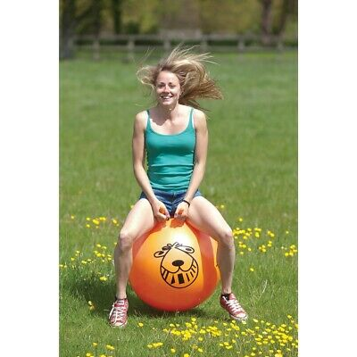 Retro 60cm Space Hopper With Pump Bouncy Ball Suitable For Kids And Adults • 11.89£