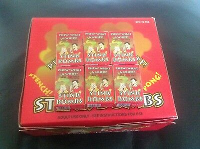 18 STINK BOMBS. Really Smelly Stag And Hen Night Fun Let One Go Gag  • 5.95£