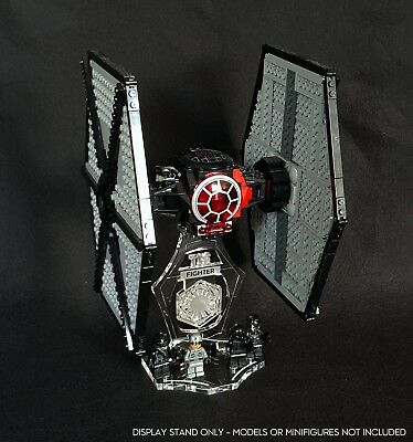 Display Stand 3D + Slots For Lego 75101 Tie Fighter (Star Wars) • 13.90£