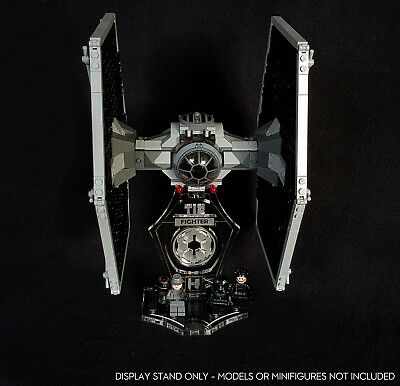 Display Stand 3D + Slots For Lego 9492-75211-75300 Tie Fighter (Star Wars) • 13.90£