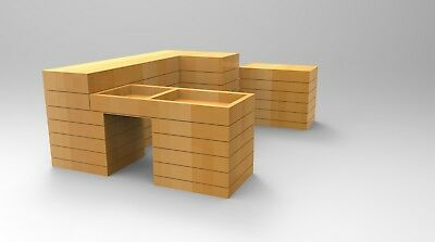 Planter 3 Sided,play Equipment,climbing Frame,Commercial,school,Fun,Garden,plant • 699£