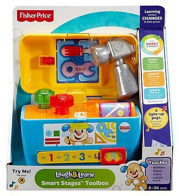 Fisher Price  Laugh And Learn Smart Stages  Toolbox • 13.99£