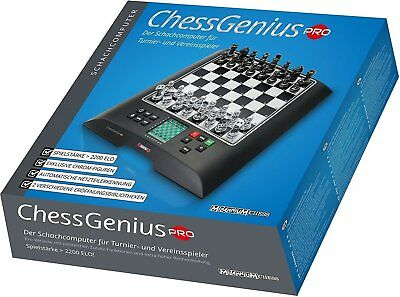 Chess Computer - Millennium ChessGenius PRO - Digital Electronic Chess Set     • 142.27£