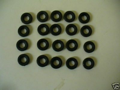 18mm Military Dinky Replacement Tyres Pack Of 20  K & R Replicas • 3.25£