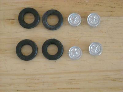 1/43rd Scale Rostyle Wheels By K&R Replicas • 2.50£