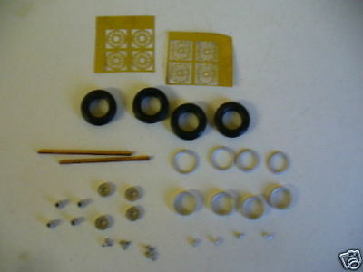 1/43rd Scale Photo Etched Wire Wheel Kit K&R Replicas For Cars With 15  Wheels  • 5£