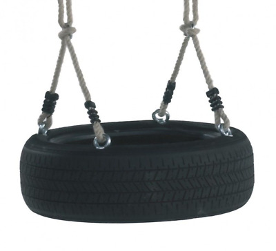 Horizontal Children's Fun Garden Rubber Tyre Swing / Tree Swing • 15.95£