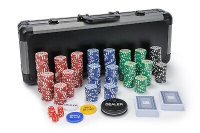 Tournament Poker Chips - 500 Piece Numbered Poker Set Free Extras 11.5 Grams • 64.99£