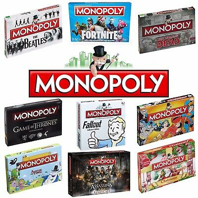 MONOPOLY Official Family Game- Perfect Christmas Gift - Choose From 80+ Editions • 28.99£