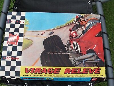 Jouef 1960's Virage Releve Banked Curved Track Set  Slot Used Boxed • 89.99£