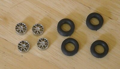 1/43rd Scale ZR Hairpin Alloy  Wheels By K&R Replicas For Cars With 16  Wheel • 3.25£