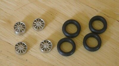 1/43rd Scale 11 Spoke Alloy  Wheels By K&R Replicas For Cars With 16  Wheel • 2.75£