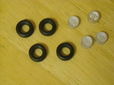 1/43rd Scale Ford RS2000 Wheels By K&R Replicas  • 2.75£