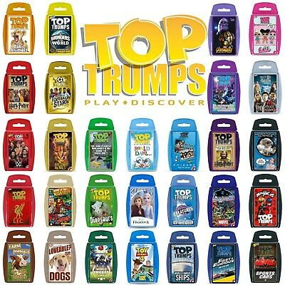 Top Trumps Card Games - Play And Discover - Largest Range - 120+ To Choose From! • 4.90£