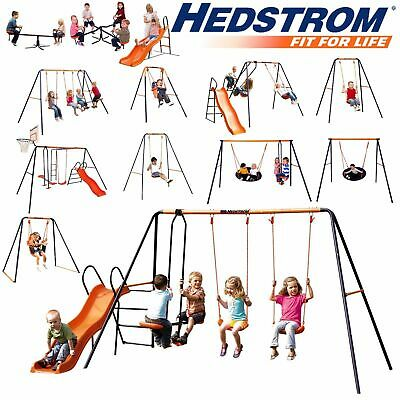Hedstrom Quality Outdoor / Indoor Swings And Slides! 12 Models To Choose From! • 199.99£