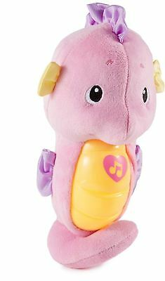 Fisher-Price Soothe And Glow Pink Seahorse • 10.99£
