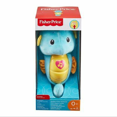 Fisher Price Soothe And Glow Blue Seahorse • 9.99£