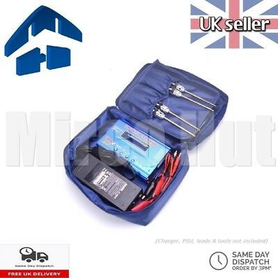 Storage Carry Travel Bag For Charger Tools Battery Lipo SkyRC IMAX B6AC Etc • 6.95£
