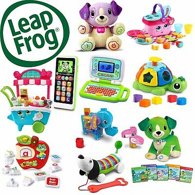 LeapFrog Kids Educational Toys - Play & Learn, Choice Of 50+ Early Learning Toys • 29.99£