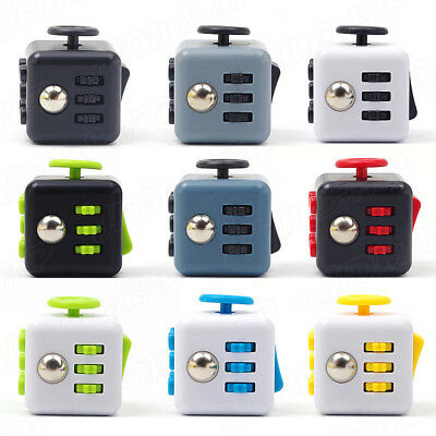 3D Fidget Hand Finger Spinner Cube Focus Stress Reliever Toy CB For Kids Adults • 5.51£