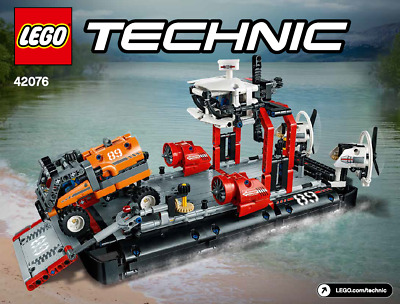 ~~lego Technic 42076 Hovercraft - Instruction Manual Only • 4.99£