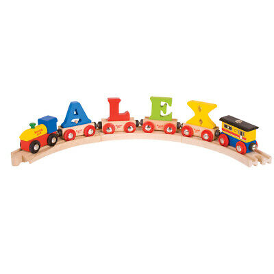 Bigjigs Rail Wooden Rail Name Train Letters • 4.48£