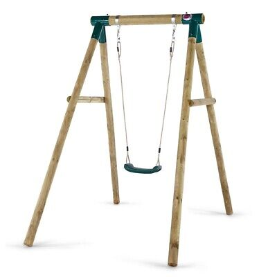 Plum Bush Baby Wooden Garden Swing Set, Soft Feel Ropes, FSC Certified Timber • 149.95£