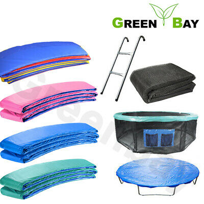 Trampoline Replacement Spring Cover Padding Safety Net Rain Cover Skirt Greenbay • 64.45£