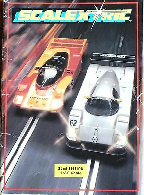 Scalextric 1991 32nd Edition Catalogue Uk Dispatch. • 4.99£