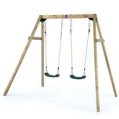 Plum Wooden Double Swing • 149.95£