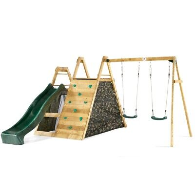Plum Climbing Pyramid Wooden Climbing Frame With Swings • 579.95£
