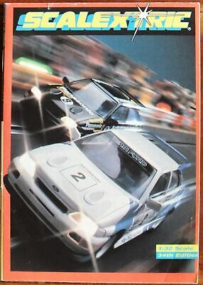 Scalextric 1993 34th Edition Pocket Catalogue Uk Dispatch • 4.50£