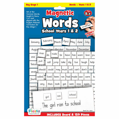 Magnetic Words For Years 1 & 2 - Magnetic Set - Fun Daily Educational Activity • 10.90£