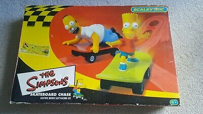 Scalectric The Simpsons Skateboard Chase • 12£