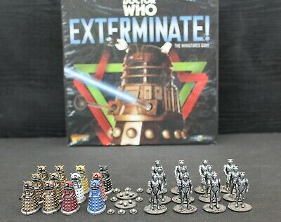 Doctor Who Exterminate Board Game Warlord Games + Well Painted Miniatures • 90£