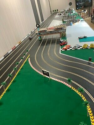 Wooden Slot Car Track, Your Choice Of Size And Layout. We Make These To Order.   • 1,350£