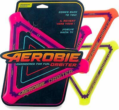 Aerobie Orbiter Boomerang - Choose Your Colour - Comes Back To You  • 9.95£