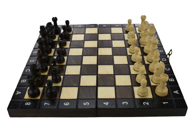 Wooden Chess Set 27 X 27 Hand Crafted Woodeeworld • 24.99£