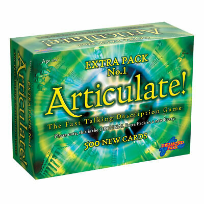 ARTICULATE Extra Pack - 3,000 New Entries For Your Articulate Game! - Expansion • 19.99£