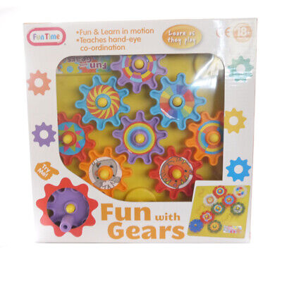 Funtime Fun With Gears Childrens Activity Set Fun Kids Baby Toddler • 7.59£